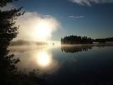Morning Reflection Paddle