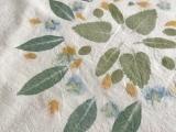 Plant Imprinting on Fabric