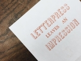 Letterpress with Wooden Type