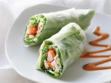 Make Your Own Spring Rolls & Dipping Sauces