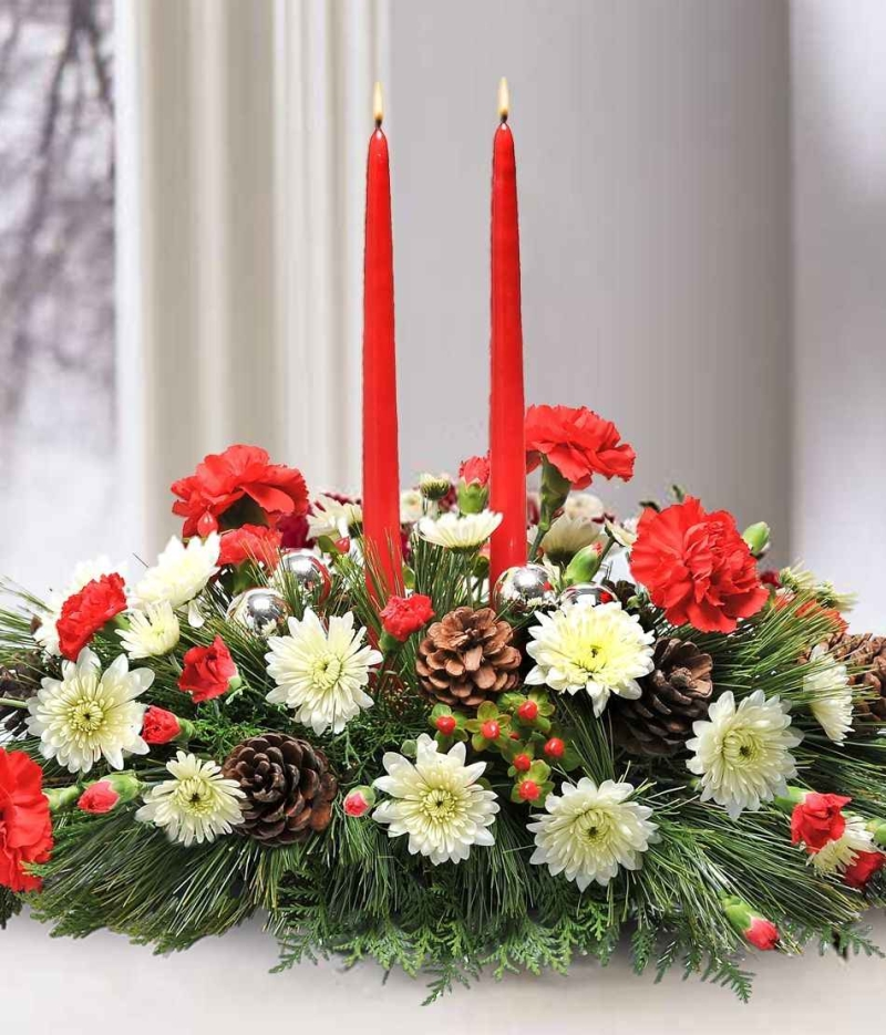 Original source: http://www.raguke.com/wp-content/uploads/2014/06/others-adorable-christmas-centerpiece-design-idea-with-red-white-flowers-brown-cones-red-candles-and-evergreen-attractive-christmas-centerpiece-design-ideas.jpg