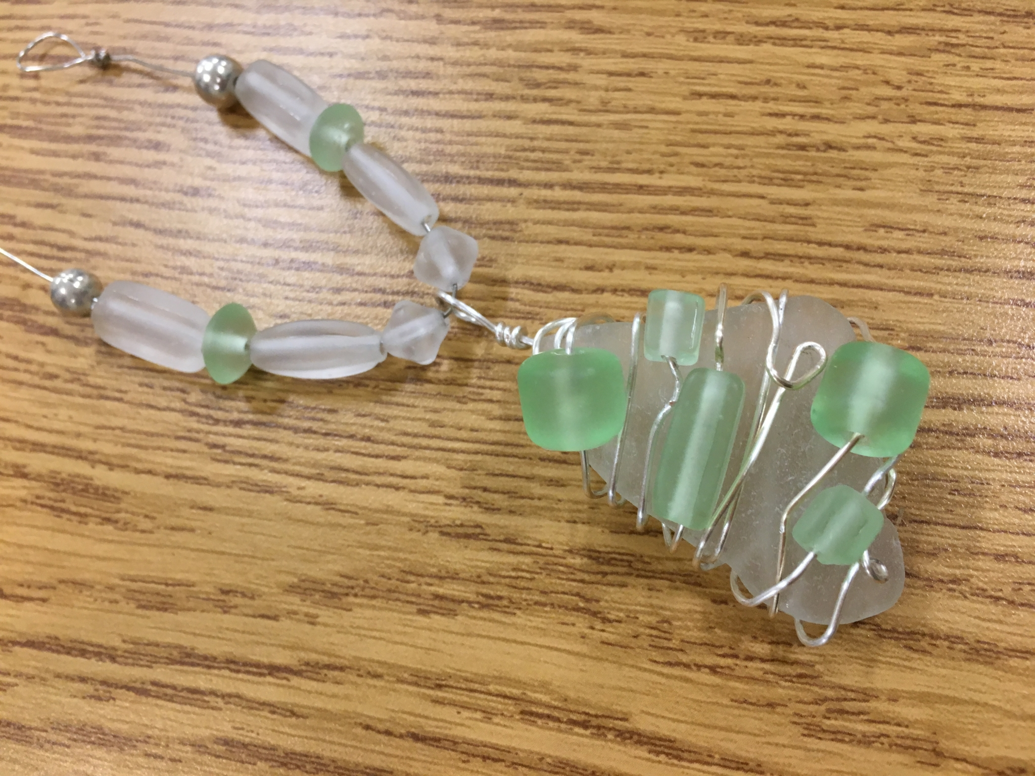 Sea Glass Necklace - Session 2