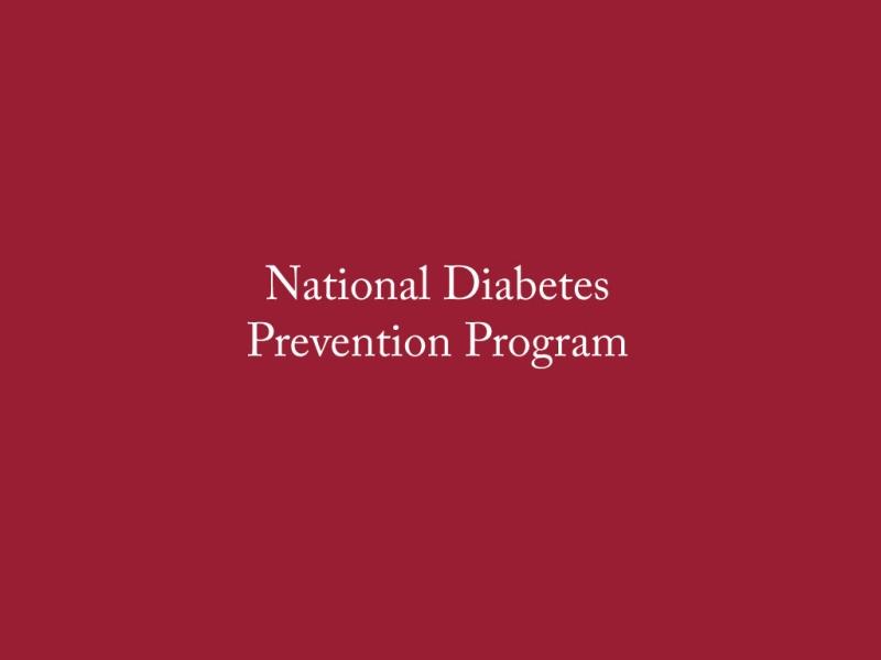 Diabetes Prevention Program- SMHC Sanford   MaineHealth