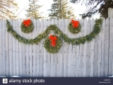 Evergreen Garland & Wreath
