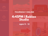 4:45PM | Roblox studio