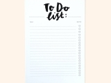 Taming the To Do List