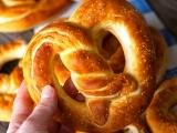 Baking Soft Pretzel