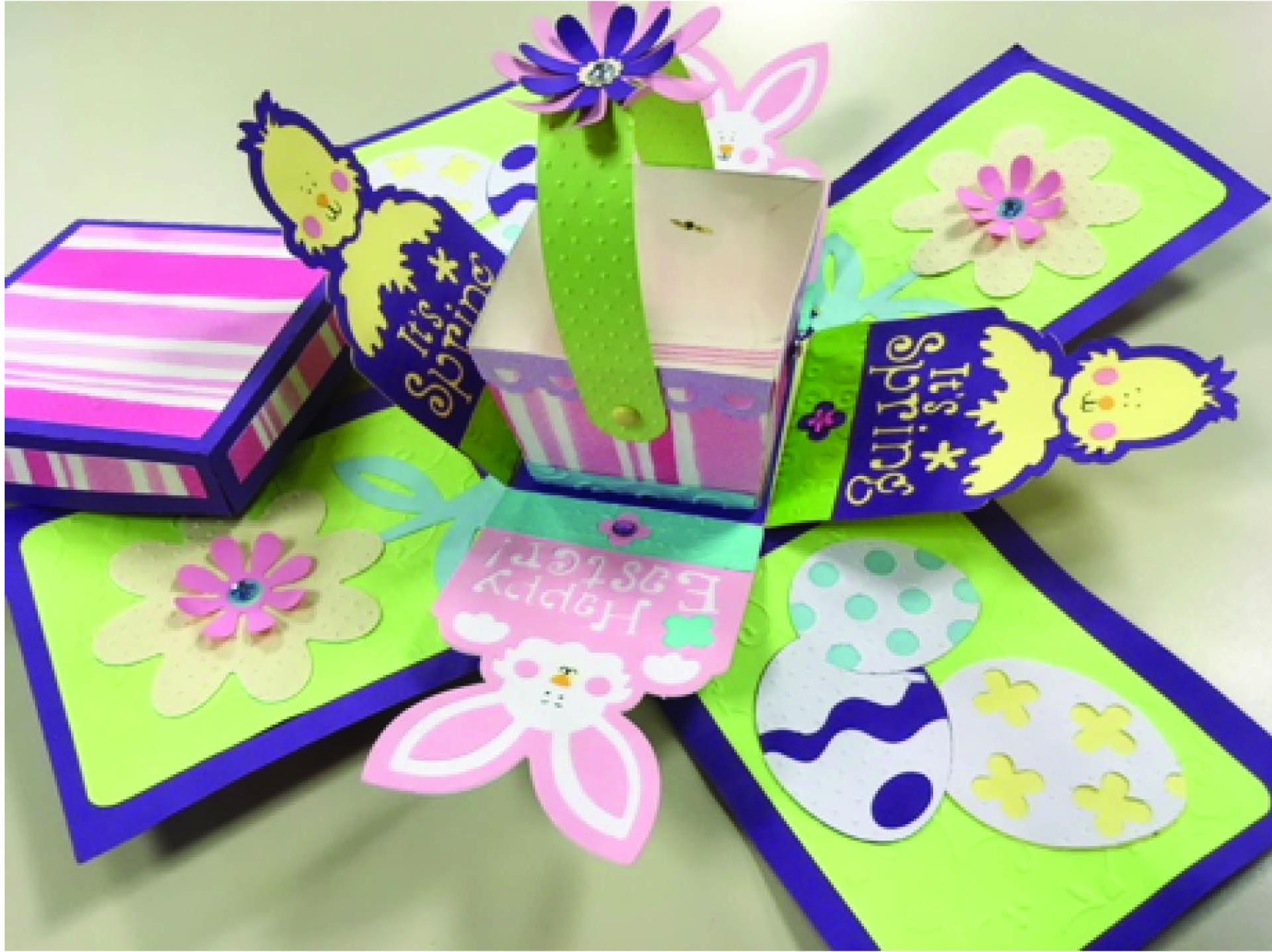 Cricut Spring/Easter Box Surprise