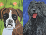 Pet Portrait Paint Night