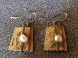 Earrings Made with Natural Materials