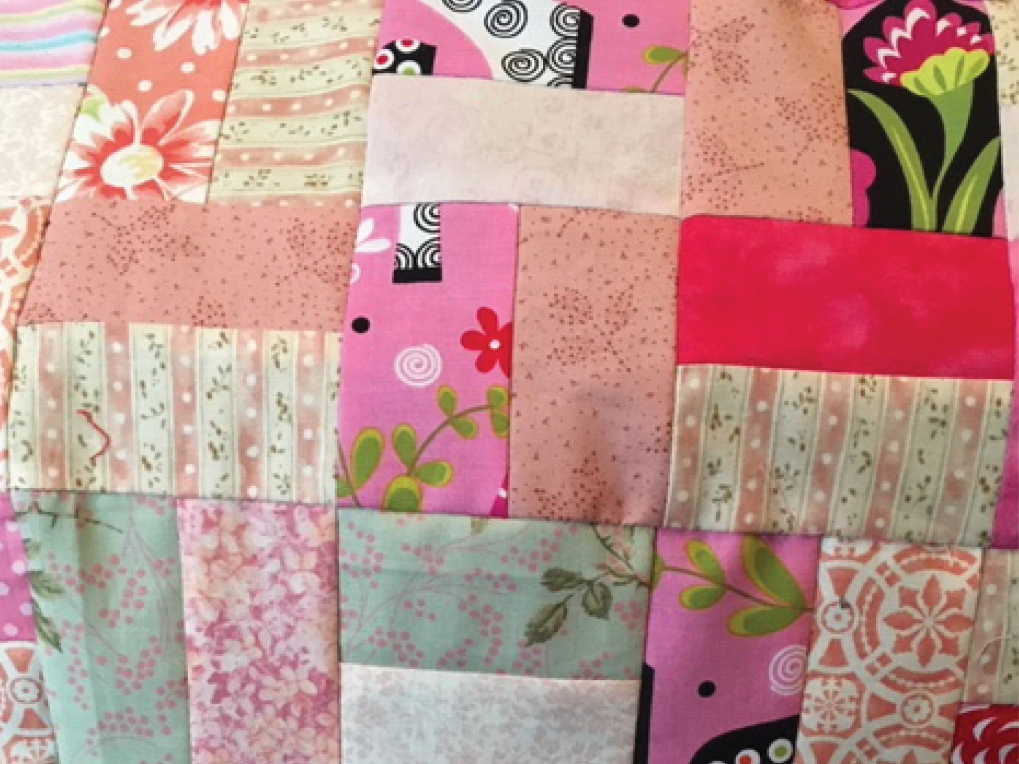 Bits and Pieces Quilt Top