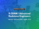 9:30 AM | Advanced Redstone Engineers