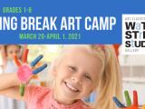 Spring Break Art Camp (grades 1-3) - Online