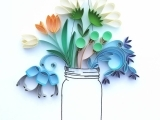 Intermediate Paper Quilling: Session I