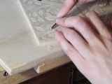 Multi-color relief printing