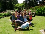 Young Sun and Moon Yoga (Ages 7-9)