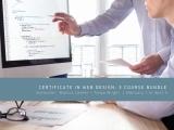 Certificate in Web Design: 3 Course Bundle