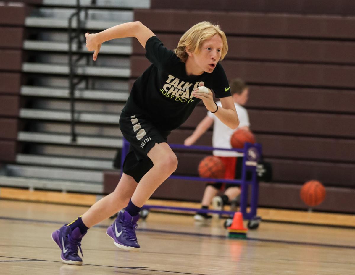 Boys' Black Bear Basketball Camp Grades 4-8
