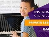 Private Instrumental String or Piano Lesson