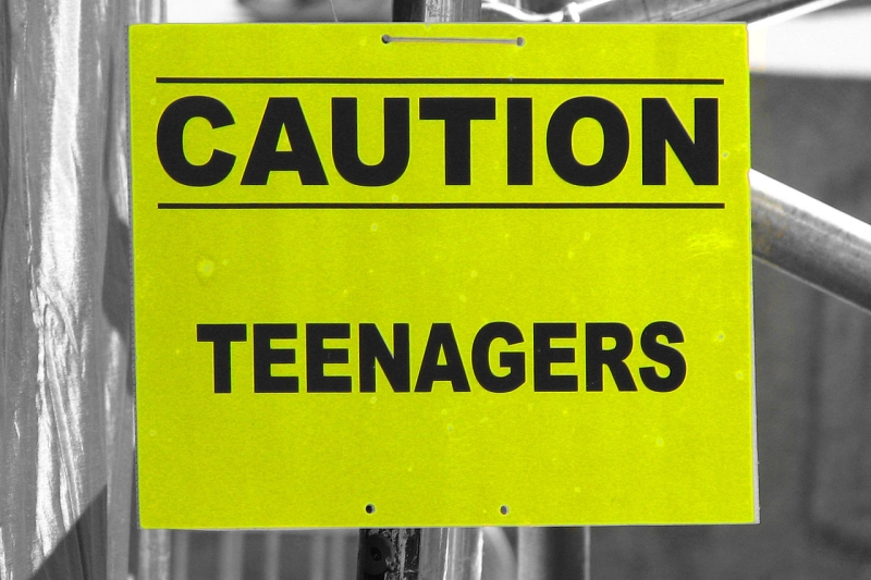 Original source: https://upload.wikimedia.org/wikipedia/commons/thumb/5/59/Caution_Teenagers_4889126077.jpg/1280px-Caution_Teenagers_4889126077.jpg