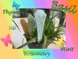 E-04-10 Ceramics Garden Stakes