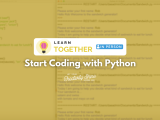 [In-Person] Start Coding with Python