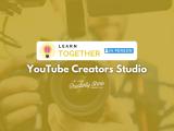 [In-person] YouTube Creators Studio