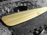 Canoe Paddle Carving