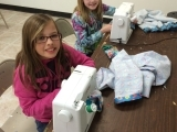 ASE Aldie Elementary Machine Sewing Class Spring 2017