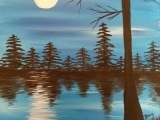 Blue Lake Paint Night