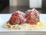 Meatballs - Stuffed with Spinach and Mozzarella