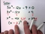 Math - Algebra - College Prep