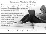 ed2go: Online Courses