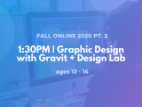 1:30PM | Graphic Design with Gravit + Design Lab