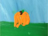 Finger Paint & Sippies - Pumpkins
