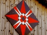 Rural Americana Art: Barn Quilt Painting, Session 2