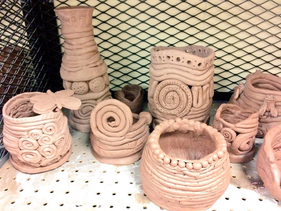 Kids: Cool Coil Pots