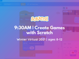 9:30 AM | Create Games with Scratch