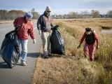 Scarborough Marsh Fall Clean Up