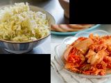 Making Saeurkraut and Kimchi