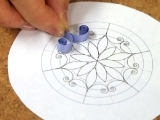 Beginner Paper Quilling - Create Paper Snowflakes, Session 2