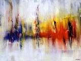 Mindful Abstract Painting: Beginners & Up