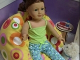 3. Doll Bean Bag Chair/PJ's