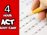 All-Pro Tutoring: 4-Hour ACT Boot Camp