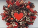 Valentine's Day Wreath Making