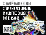 STEAM @ Water Street ONLINE (ages 8-10)