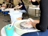 Teen Pottery Wheel Camp