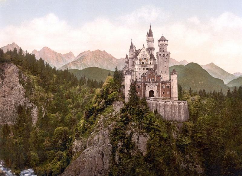 Original source: https://upload.wikimedia.org/wikipedia/commons/thumb/e/e8/Neuschwanstein_Castle_LOC_print_rotated.jpg/1280px-Neuschwanstein_Castle_LOC_print_rotated.jpg