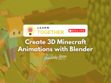 [Online] Create 3D Minecraft Animations with Blender