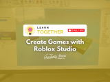 [Online] Create Games with Roblox Studio